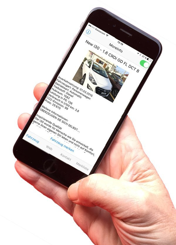 Mobile App MoreInfo