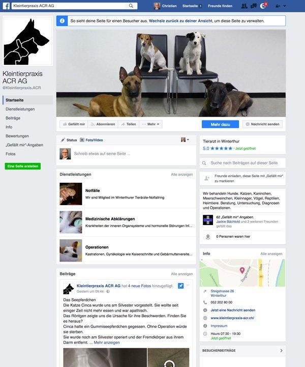 Facebook Tierklinik ACR