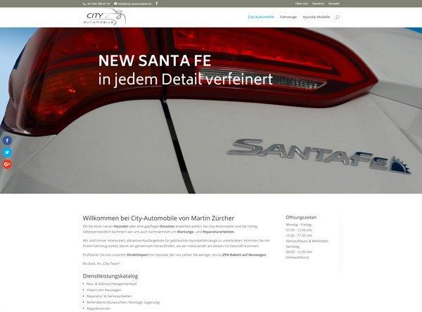 Homepage City-Automobile Samstagern