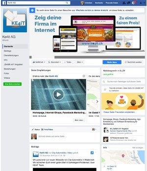 social media marketing in kmu mit facebook jetzt durchstarten. Black Bedroom Furniture Sets. Home Design Ideas