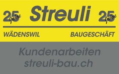 Referenz Bauunternehmer Streuli-Bau