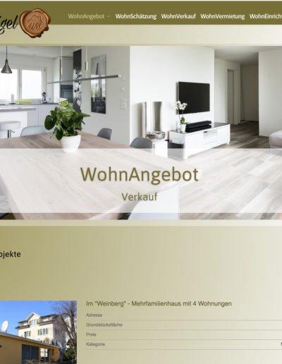 WohnSigel Verkaufsangebote